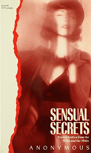 Sensual Secrets (Victorian erotic classics) (0881846619) by Adler, Bill
