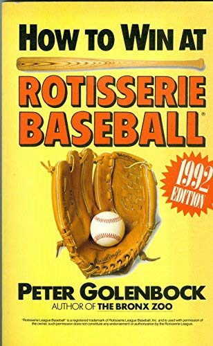 How to Win at Rotisserie Baseball: Peter Golenbock