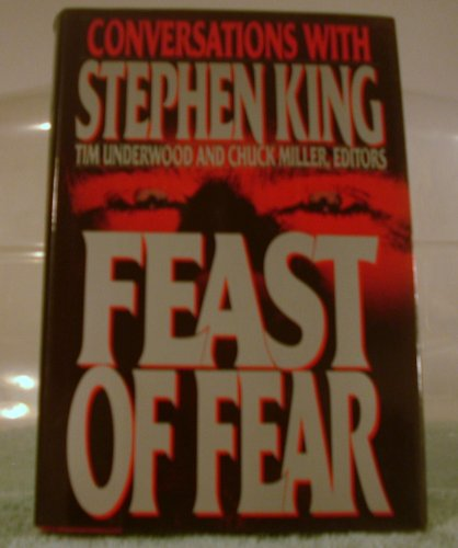 9780881848113: Feast of Fear: Conversations With Stephen King