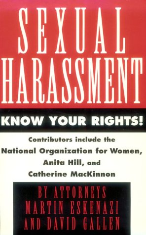 Sexual Harassment: Know Your Rights: Gallen, Eskenazi &