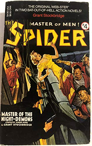 9780881848984: The Spider #4: Master of the Night-Demons (v. 4)