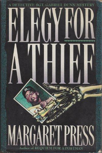 9780881849493: Elegy for a Thief: A Detective Sergeant Gabriel Dunn Mystery