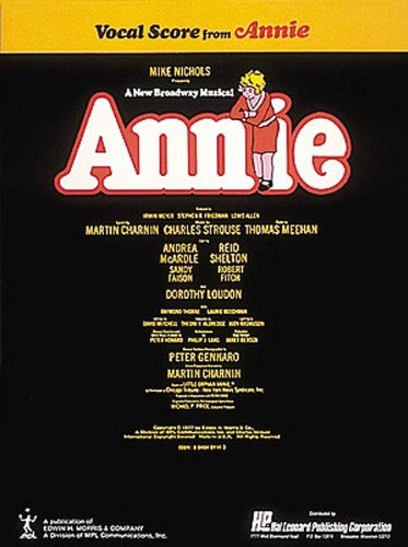 9780881880014: Annie Vocal Score (Vocal Score Series)