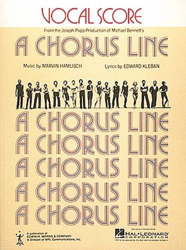 9780881880113: Chorus Line, A (Vocal Score)