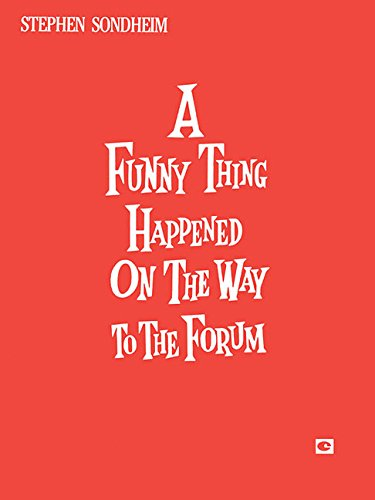 9780881880212: Funny Thing Happened On The Way To The Forum A (Vocal Score)