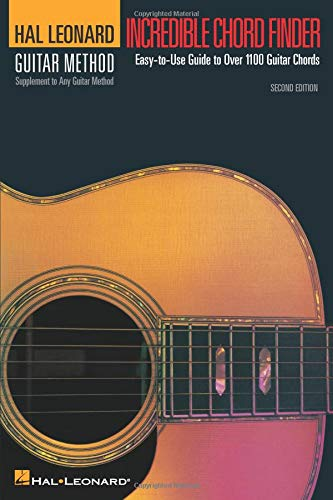 9780881881400: Incredible Chord Finder - 6 Inch. X 9 Inch. Edition: Hal Leonard Guitar Method Supplement
