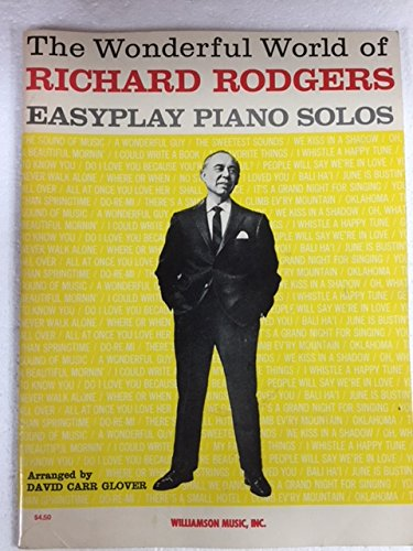 9780881881882: The Wonderful World of Richard Rodgers: Easyplay Piano Solos
