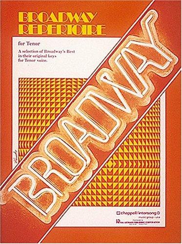 9780881882216: Broadway Repertoire for Tenor