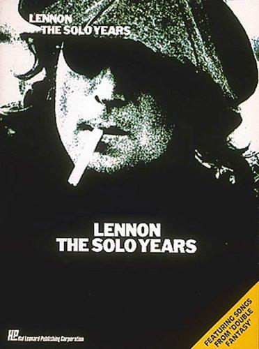 9780881882490: Lennon - the solo years piano, voix, guitare