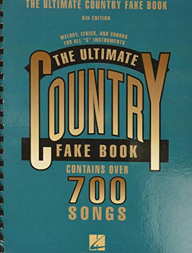 9780881882605: The Ultimate Country Fake Book, 5th Edition