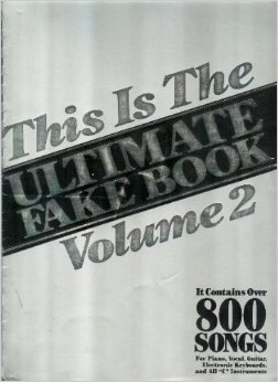 THIS IS ULTIMATE FAKE BOOK, VOLUME 2.IT: Leonard, Hal (Holler,