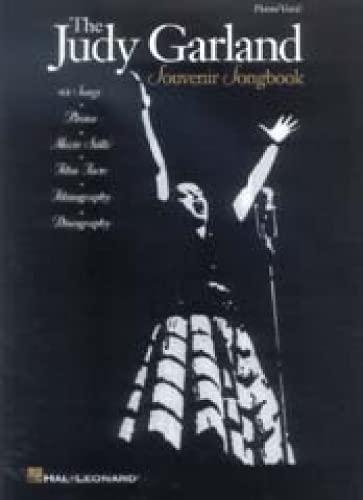 9780881883909: Judy Garland Souvenir Songbook: Souvenir Song Book - Piano/vocal