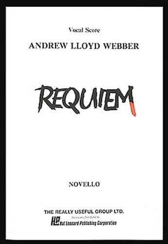 9780881884739: Requiem: Vocal Score