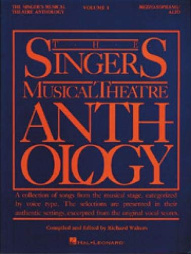 9780881885453: The Singer's Musical Theatre Anthology: Vol. 1, Mezzo-Soprano/Belter
