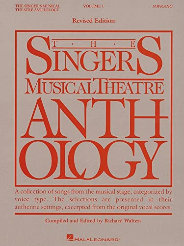 9780881885460: The Singer's Musical Theatre Anthology: Soprano Vol. I
