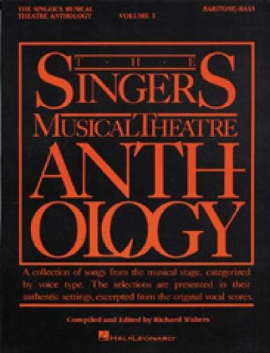 9780881885484: The Singer's Musical Theatre Anthology - Volume 1: Baritone/Bass Book Only: 001 (Singer's Musical Theatre Anthology (Songbooks))