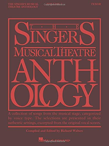 9780881885491: The Singer's Musical Theatre Anthology, Vol. 1: Tenor
