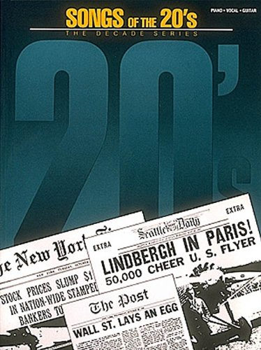 9780881885620: Songs of the 1920's: The Decade Series