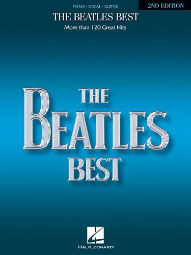 The Beatles Best: Over 120 Great Beatles Hits (Piano, Vocal, Guitar) (0881885983) by Beatles, The