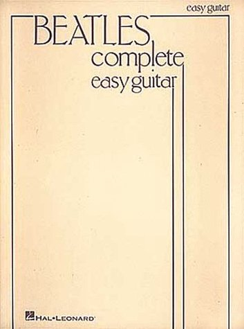9780881886054: The Beatles Complete Easy Guitar