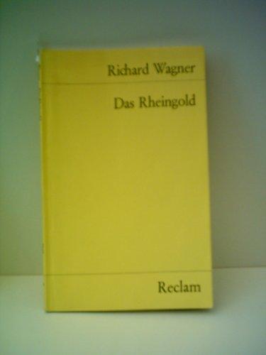 9780881886658: Richard Wagner: Das Rheingold [Taschenbuch] by Richard Wagner