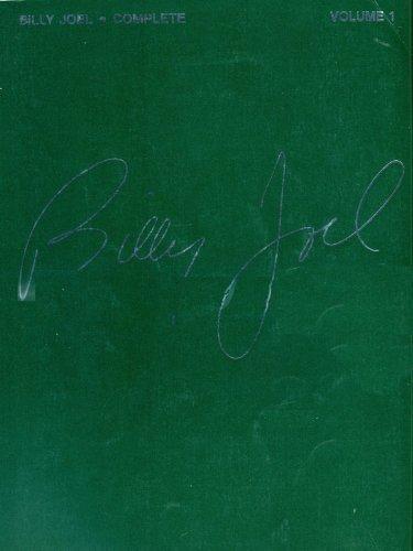 9780881887754: Billy Joel Complete: v. 1