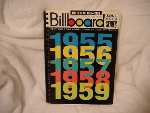 The Billboard Songbook Series: Best of 1955-1959 (0881888214) by Joel Whitburn