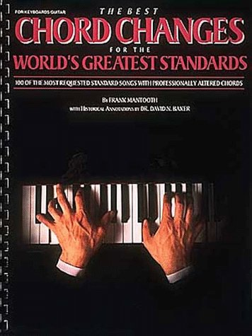 9780881888522: Best Chord Changes for the World's Greatest Standards