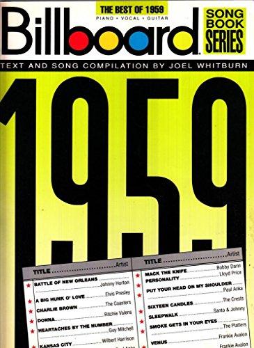 Best Of 1959, The Billboard Songbook See 490007: Creator-Hal Leonard Corp.