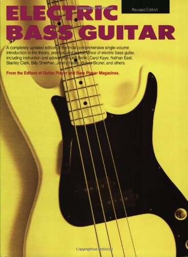 9780881889079: ELECTRIC BASS GUITAR - REVISED EDITION SOFTCOVER (Guitar Player Basic Library)
