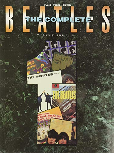 9780881889130: The Complete Beatles, Vol. 1 (A to I)