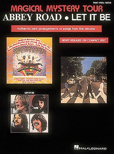 9780881889734: The Beatles - Magical Mystery Tour/Abbey Road/Let It Be