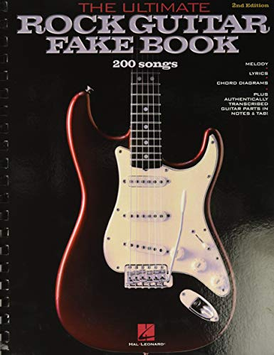 9780881889789: The Ultimate Rock Guitar Fake Book: 200 Songs Authentically Transcribed for Guitar in Notes & Tab! (Fake Books)