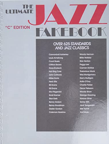 9780881889796: The Ultimate Jazz Fake Book (Fake Books) C Edition