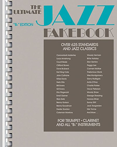 Ultimate Jazz Fake Book : B Flat/No 240080