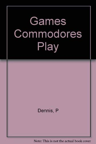 9780881901214: Games Commodores Play