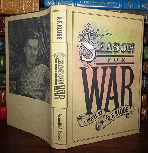 9780881910179: Season For War