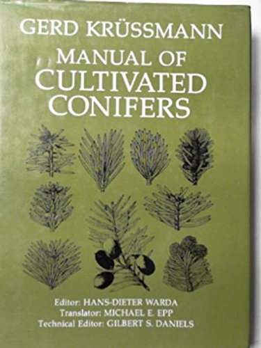 9780881920079: Manual of Cultivated Conifers