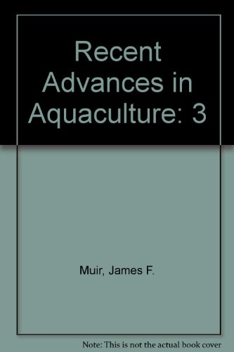 9780881921229: Recent Advances in Aquaculture: 3