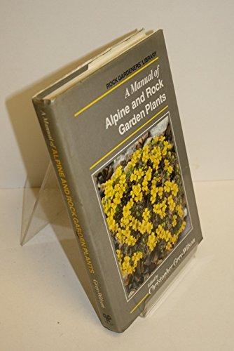 9780881921465: Manual of Alpine and Rock Garden Plants