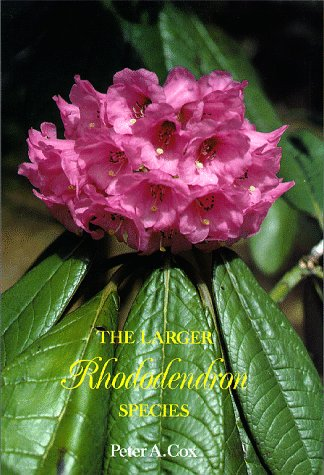 9780881921809: The Larger Rhododendron Species