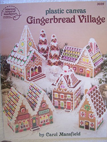 9780881950977: Plastic Canvas Gingerbread Village