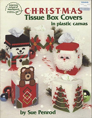 Plastic Canvas Christmas Tissue Box Covers in: Sue Penrod