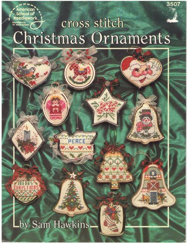 9780881951752: Cross stitch Christmas ornaments