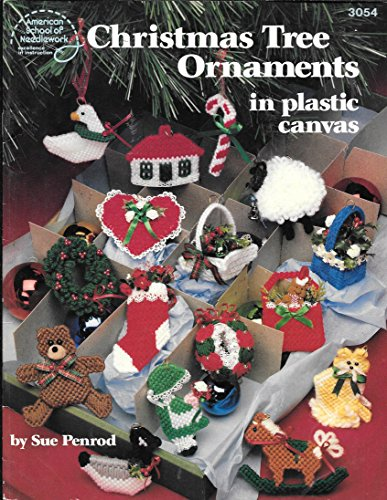 Christmas Tree Ornaments in Plastic Canvas: Sue Penrod