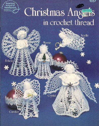 9780881951837: Christmas Angels in crochet Thread (1057)