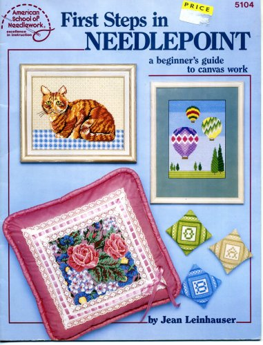 9780881951936: First Steps in Needlepoint, A Beginners Guide to Canvas Work (5104)
