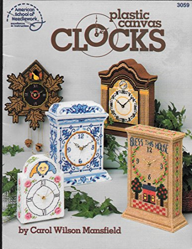 9780881952117: Plastic Canvas Clocks
