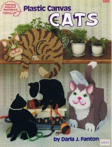 9780881952414: Plastic Canvas Cats (American School of Needlework #3073)