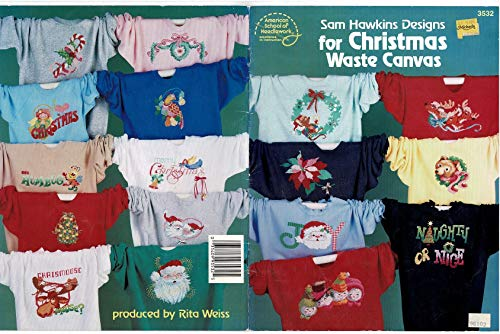 9780881952643: Sam Hawkins Designs for Christmas Waste Canvas Craft Book